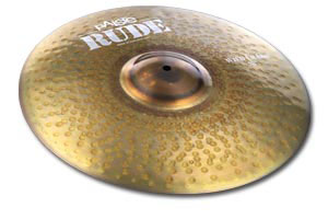 Paiste Introduces RUDE Wild Crashes