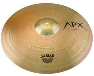 SABIAN Announces APX Cymbal Series