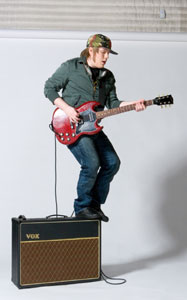 VOX AC30 Is a Necessity For Patrick Stump Of Fall Out Boy