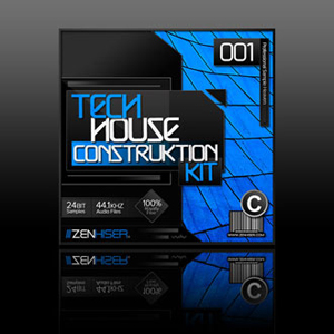 Zenhiser releases Tech House Construktion Kit and Electro Beats