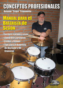Drummer Antonio Trapanotto releases tutorial book