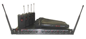 Nady Systems Introduces U-81 OCTAVO Wireless Microphone System