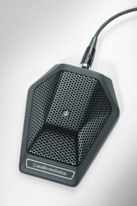 Audio-Technica unveils U851RO omnidirectional condenser boundary microphone