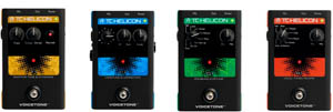TC-Helicon VoiceTone Singles vocal effects boxes let singers in on the fun