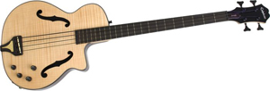 Epiphone has a winner in the Zenith acoustic-electric bass