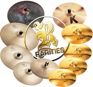 Zildjian Rarities hitting the stores this month